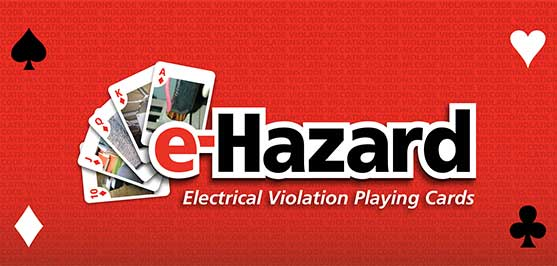 Electrical Violation Playing Cards Now on Our Website!