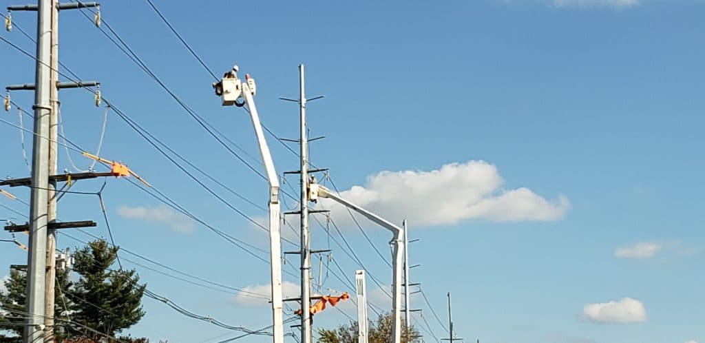 Electric Shock and Fall Incident in Massachusetts