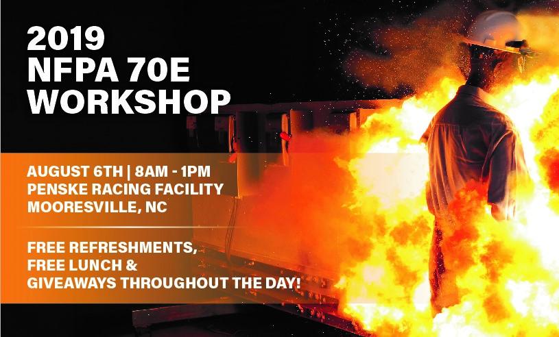 NFPA 70E Workshop in NC Coming Soon