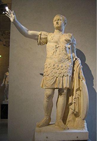 Tito Flavio Sabino Vespasiano, emperador romano, estatua
