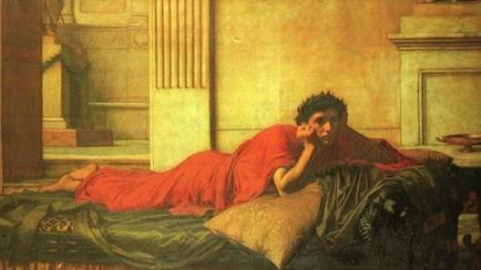 Nerón, Emperador romano, asesinato, matar, madre, 1878