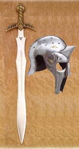 Equipo de gladiador
