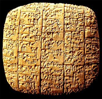 En arcilla se encuentran plasmadas las costumbres de Ebla