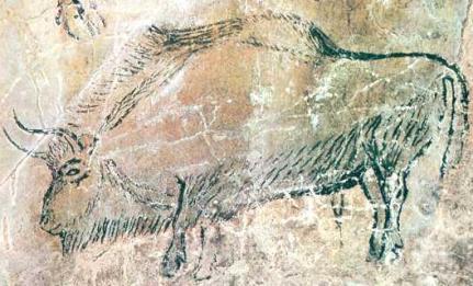 Los animales predominaron en las pinturas rupestres