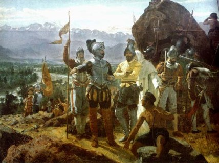 Muchas veces conquista es llegar a imponer costumbres y credos ajenos a los habitantes del lugar
