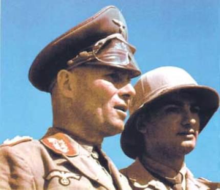 Rommel, quien en ese momento se encontraba en una reunión familiar, fue quien pudo cambiar la ruta de la invasión