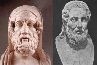 Homero y Hesiodo