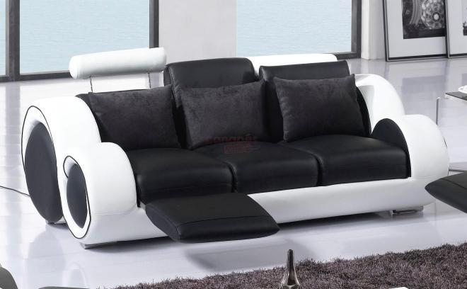 Canapé cuir convertible 3 places pas cher