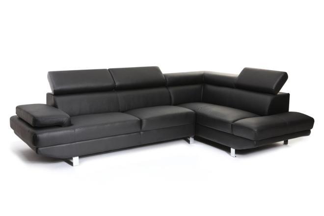 Canapé d'angle cuir but