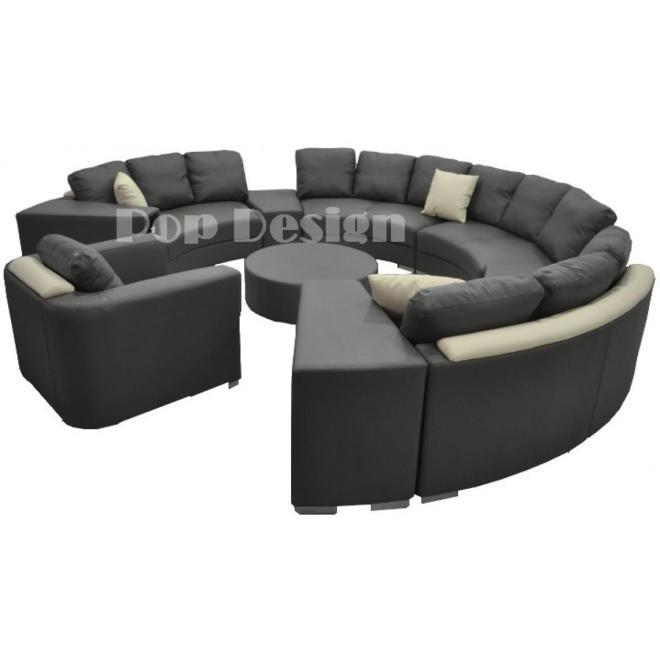 Canapé rond