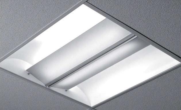 Carre luminaire