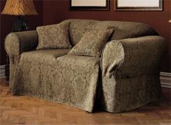 Faire une housse de canapé