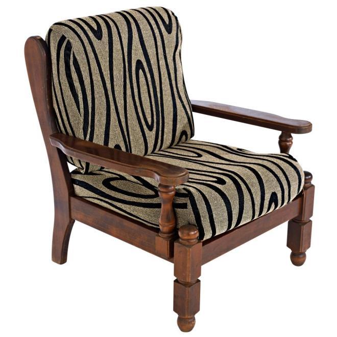 housse fauteuil rustique bois. Black Bedroom Furniture Sets. Home Design Ideas