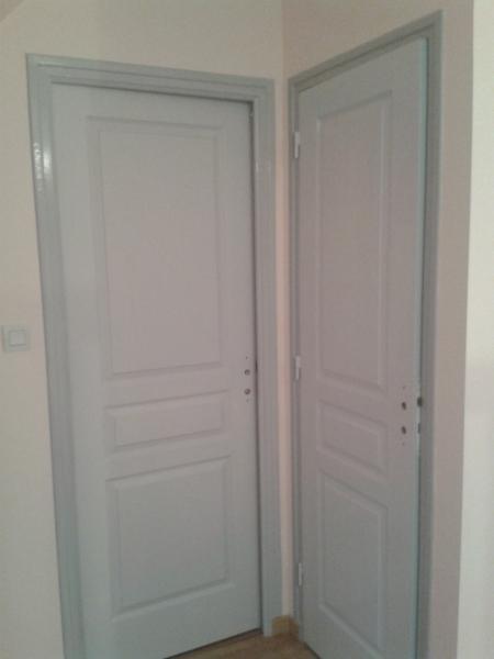 Quelle couleur peindre porte intérieure