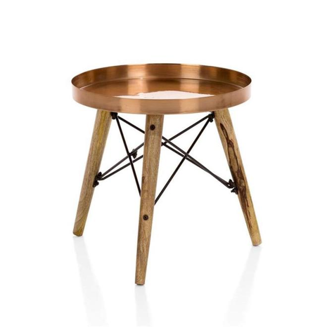 Table d appoint cuivre