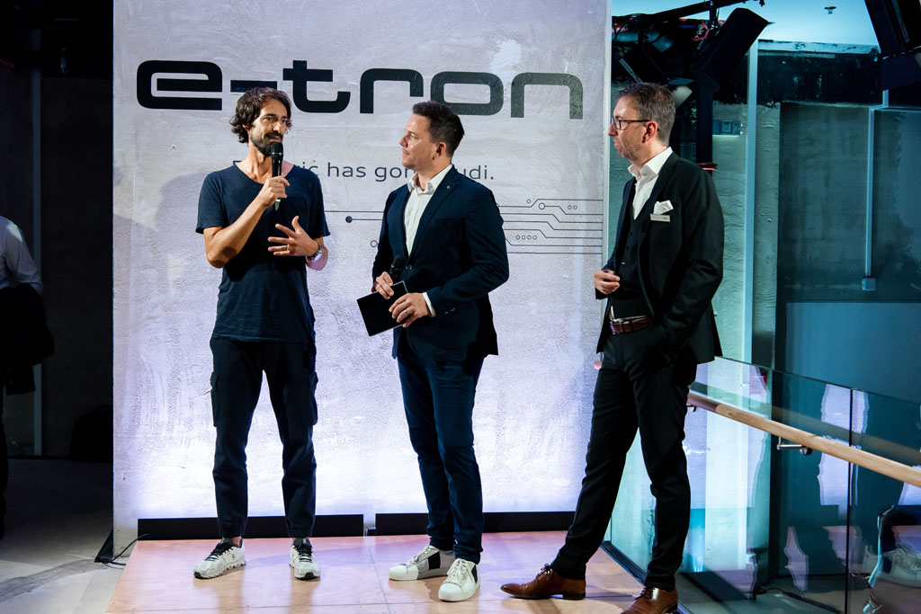 Caspar Coppetti, Sven Epiney e Dieter Jermann (da sx). (Tom Lüthi)