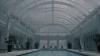 Mandioni schwimmt im Hotel-Pool.