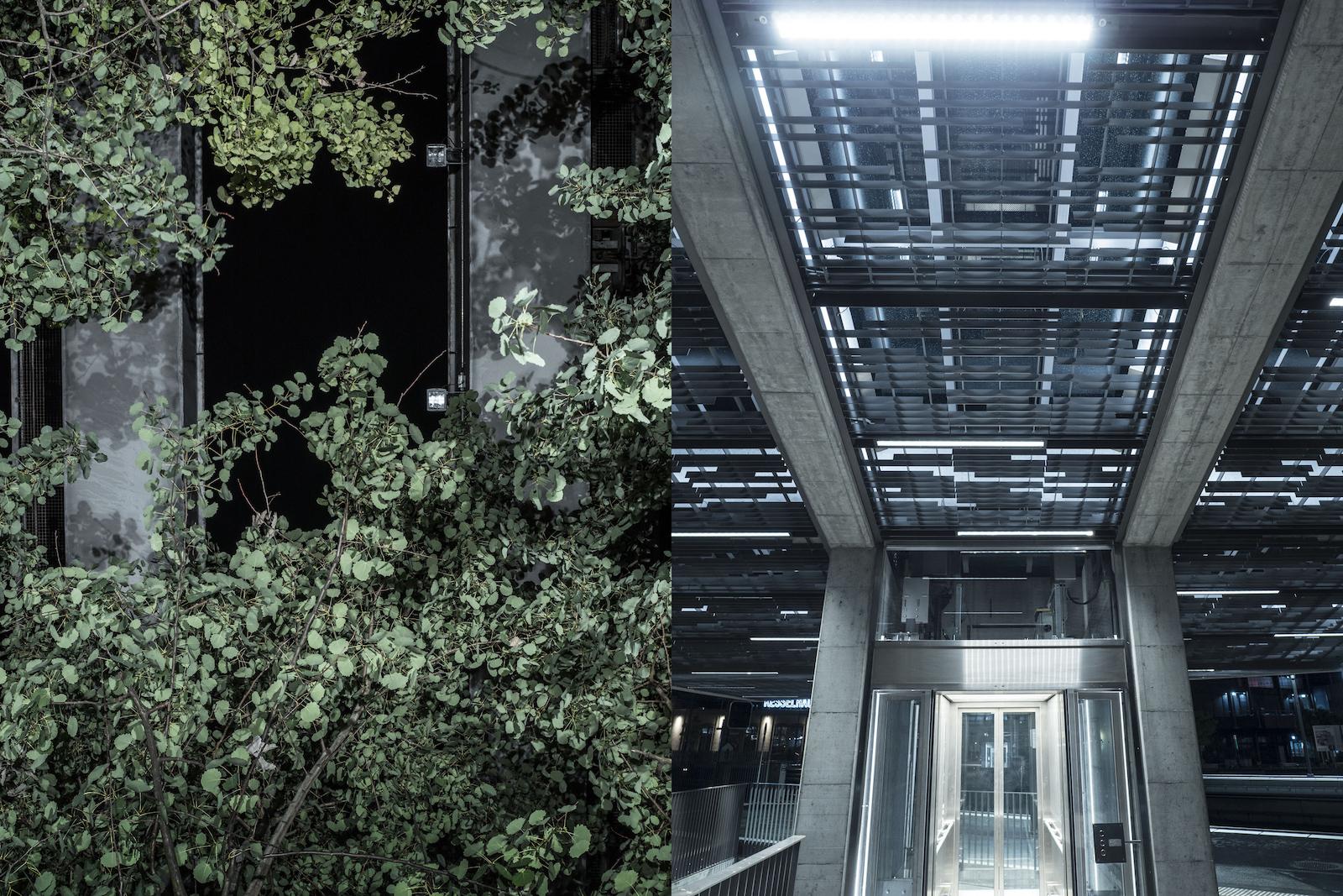Mit der Lokstadt entsteht in Winterthur ein Quartier, das dicht und gleichzeitig grosszügig, bunt, grün und nachhaltig ist (links). Beim Bahnhof wurden der Bahnhofplatz, das Sulzer- und das Archareal sowie die Rudolfstrasse miteinander verbunden (rechts). So sind attraktive Aufenthaltsräume und kurze Wege für Fussgänger und Velofahrer entstanden. (Robert Huber)