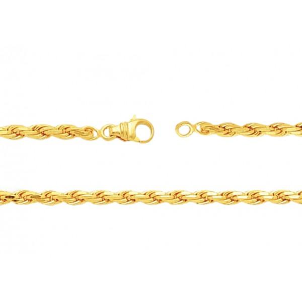 chaine or jaune 18 carats 40 cm largeurs de 1 10 a 2 3 mm