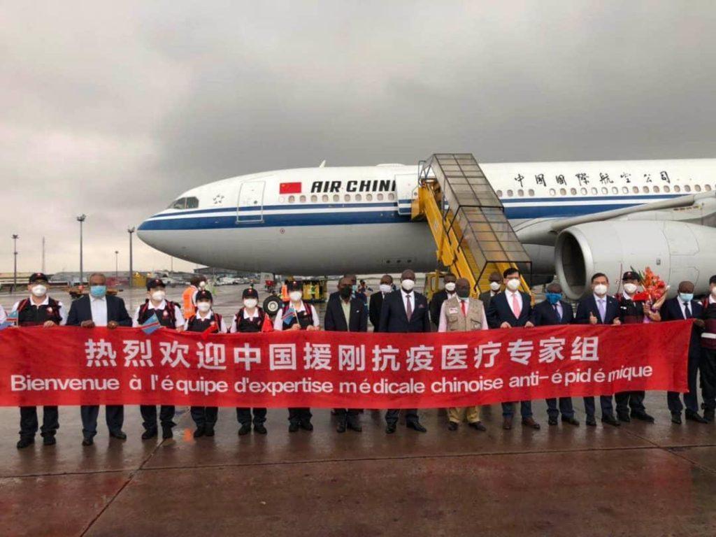 Les experts médicaux chinois en soutien au peuple congolais 1