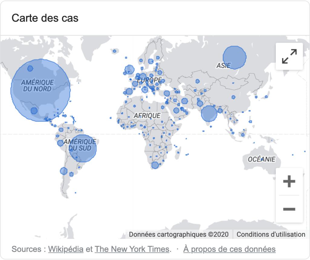 Les chiffres de Covid19 en RDC et dans le monde 1