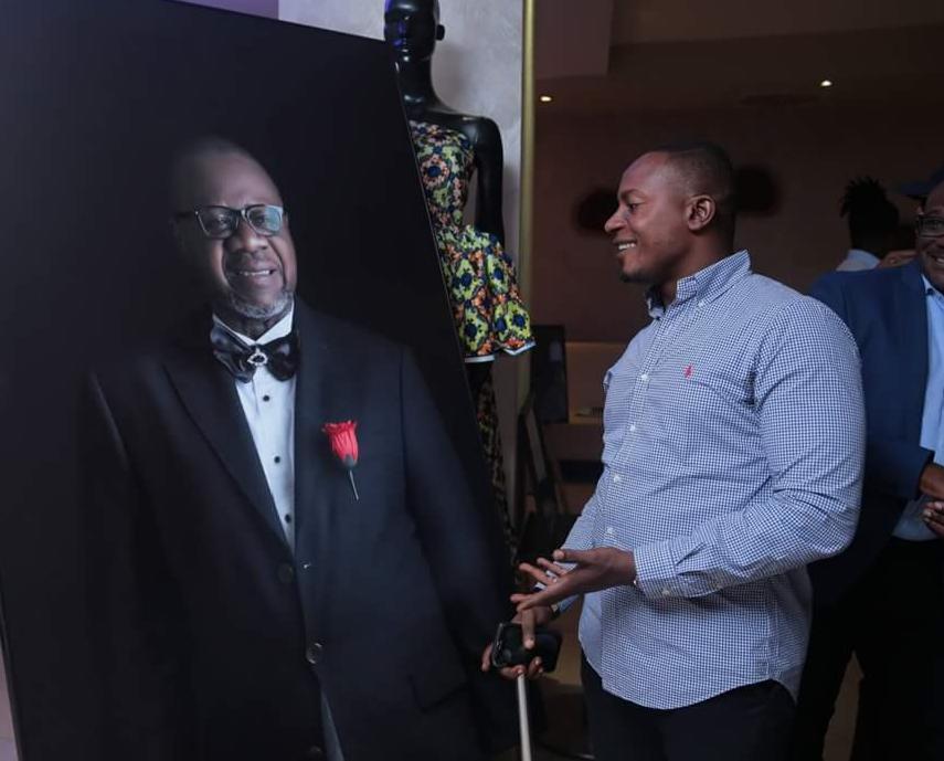 Sony Kamana, passionné de la mode et de la musique, imitateur de Mobutu 3