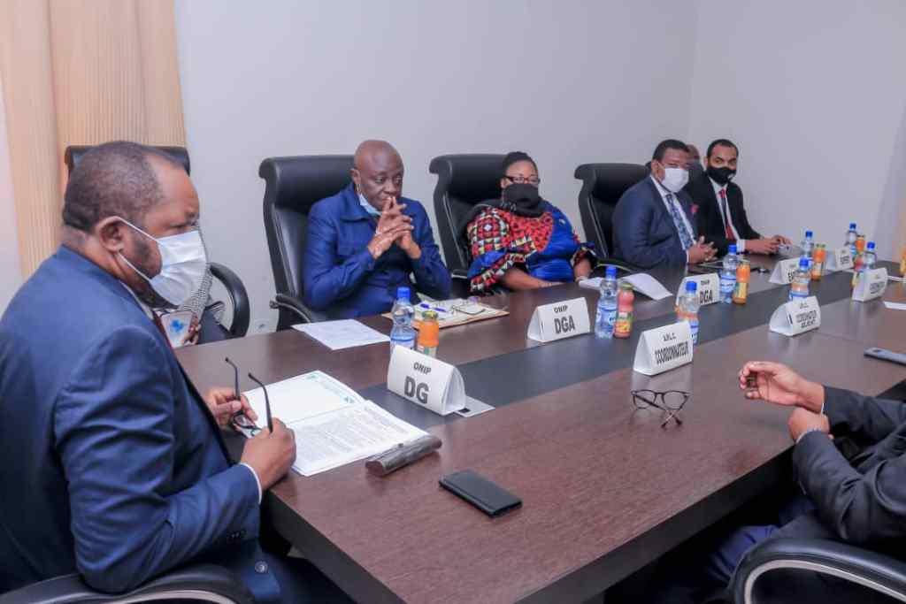 RDC: Le fichier général de la population au cœur des échanges entre le DG de l'ONIP, Richard Ilunga et une délégation de la présidence de la République 1