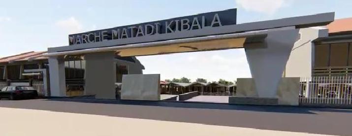 Gentiny Ngobila lance les travaux de construction d'un marché moderne à Matadi Kibala 1