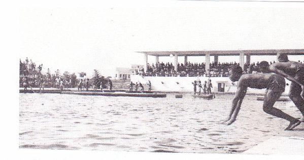 Jeune, j'ai nagé à Cosbaki, à Funa et à l'Athénée de la Gombe 1