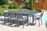 table de jardin mobilier de jardin