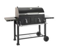 barbecue a charbon de bois sur chariot
