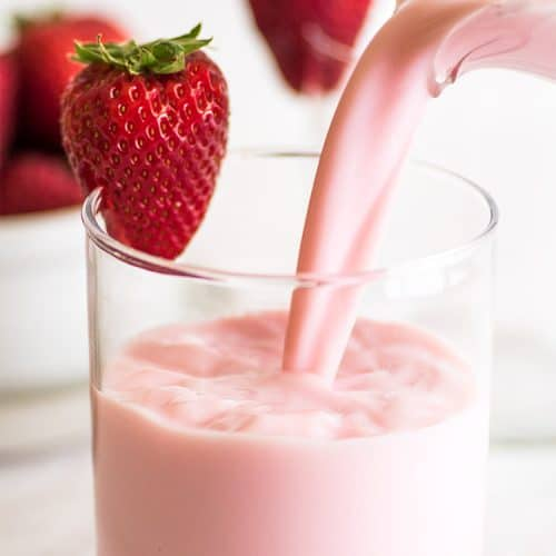 Strawberry Milk - Lekka Flavours | South Africa