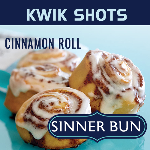Kwik Shots - Sinner Bun - One Shot Flavours Concentrates   South Africa