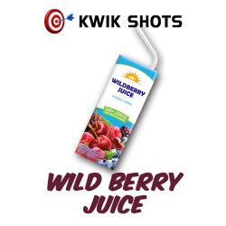 Kwik Shots -Wild-Berry-Juice- One shot Flavour Concentrates | South Africa