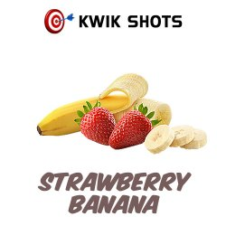 Kwik Shots -Strawberry-Banana- One shot Flavour Concentrates   South Africa