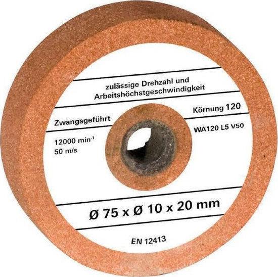 Πέτρα Λείανσης Einhell Κ120 Ø 75 x Ø 10 x 20 mm για TH-XG 75
