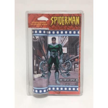 ΑΥΤΟΚΟΛΛΗΤΗ ΜΠΟΡΝΤΟΥΡΑ ΤΟΙΧΟΥ SPIDER-MAN 17cm x 5m