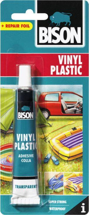 BISON VINYL PLASTIC ΚΟΛΛΑ ΓΙΑ MΑΛΑΚΟ / ΕΥΚΑΜΠΤΟ PVC