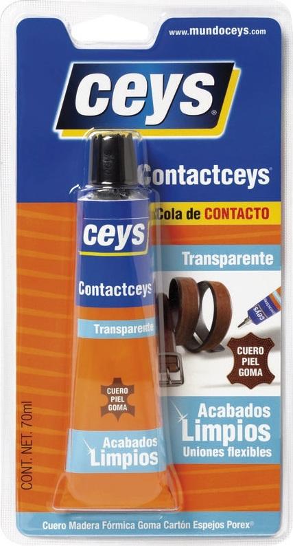 Ceys ContactCeys Transparente ΙΣΧΥΡΗ ΕΛΑΣΤΙΚΗ ΔΙΑΦΑΝΗΣ ΒΕΝΖΙΝΟΚΟΛΛΑ
