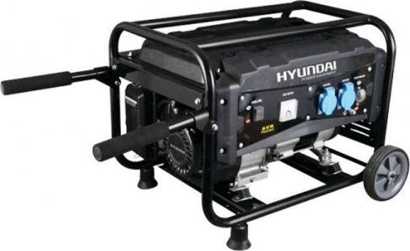 HYUNDAI G3500EMW ΓΕΝΝΗΤΡΙΑ ΒΕΝΖΙΝΗΣ ΜΟΝΟΦΑΣΙΚΗ ΜΕ ΜΙΖΑ & ΜΠΑΤΑΡΙΑ 3.5KVA