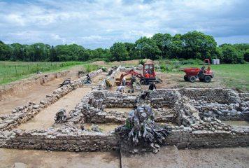 Au Pérennou, la villa antique  se dévoile