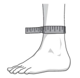 Jak dokonać prawidłowego pomiaru stopy bykupić ortezę Neurodyn Classic 7077 Sporlastic