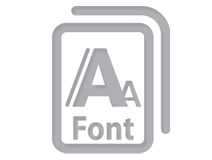 TransVision template - Icon fonts