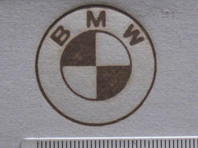 車焼印BMW