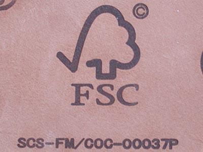 FSC焼印です。