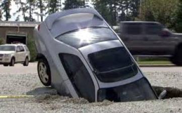Michigan Pothole