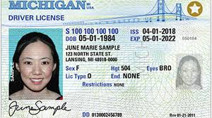 Michigan Real ID Drivers License