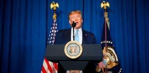 TRUMP: We Took Action To Stop A War, Not 'Start A War'