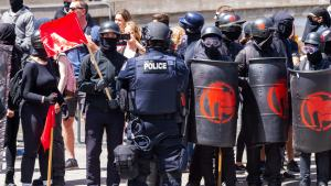 """2065-9AM Portland DA Drops Charges Against Antifa Rioters Who Injure Cops, Citing """"Instinctive Reaction"""" To Police"""