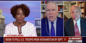 EP 2410-9AM CIA's Brennan; Joy Reid On MSNBC: Trump Incited 'Violent White Extremism Much the Way Bin Laden' Did